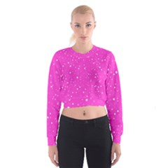 Dots pattern Cropped Sweatshirt