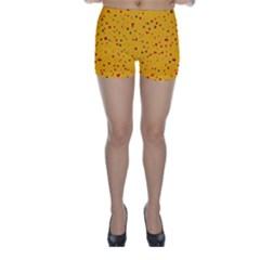 Dots pattern Skinny Shorts