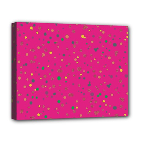 Dots pattern Deluxe Canvas 20  x 16