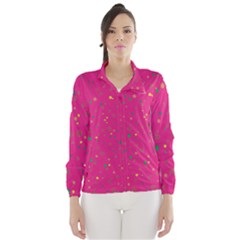 Dots pattern Wind Breaker (Women)