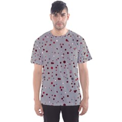 Dots pattern Men s Sport Mesh Tee