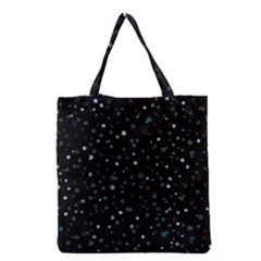 Dots pattern Grocery Tote Bag