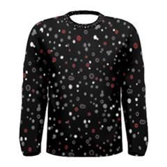 Dots pattern Men s Long Sleeve Tee