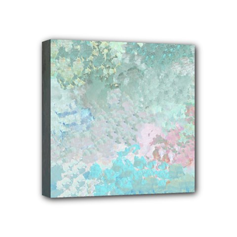 Pastel Garden Mini Canvas 4  x 4