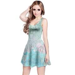 Pastel Garden Reversible Sleeveless Dress