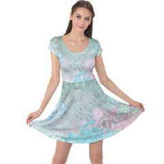 Pastel Garden Cap Sleeve Dresses