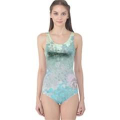 Pastel Garden One Piece Swimsuit