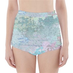 Pastel Garden High Waisted Bikini Bottoms