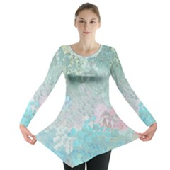 Pastel Garden Long Sleeve Tunic