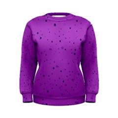 Dots pattern Women s Sweatshirt
