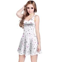 Dots pattern Reversible Sleeveless Dress