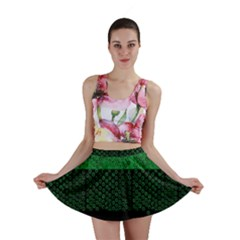 Abstract art  Mini Skirt