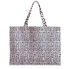 Abstract Art  Zipper Mini Tote Bag