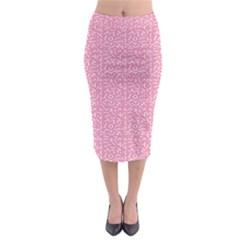 Abstract art  Midi Pencil Skirt
