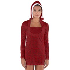 Abstract art  Women s Long Sleeve Hooded T-shirt