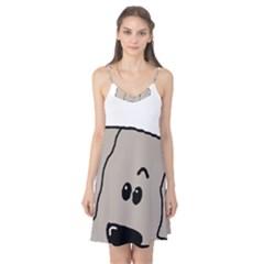 Peeping Weimaraner Camis Nightgown