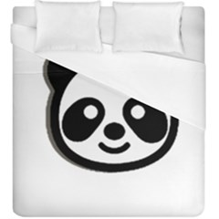 Panda Head Duvet Cover (King Size)