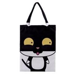 Panda Cat Classic Tote Bag