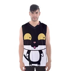 Panda Cat Men s Basketball Tank Top