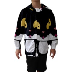 Panda Cat Hooded Wind Breaker (Kids)