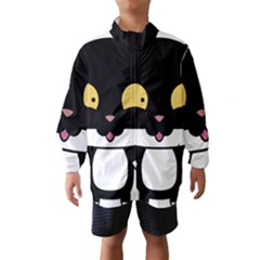 Panda Cat Wind Breaker (Kids)