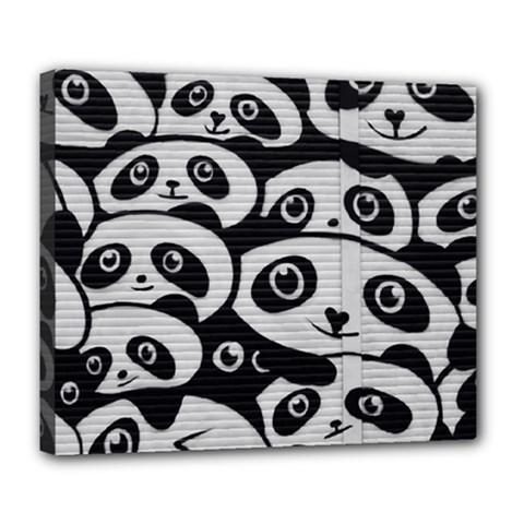 Panda Bg Deluxe Canvas 24  x 20