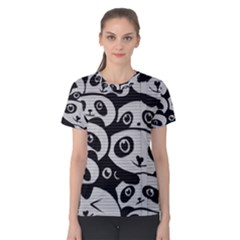 Panda Bg Women s Cotton Tee