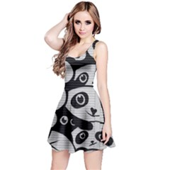 Panda Bg Reversible Sleeveless Dress