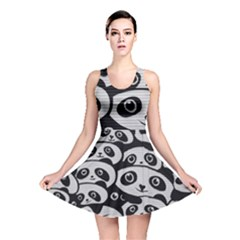Panda Bg Reversible Skater Dress