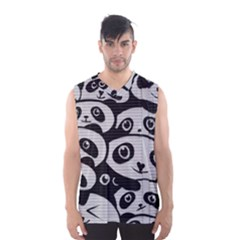 Panda Bg Men s Basketball Tank Top
