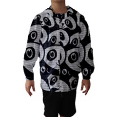 Panda Bg Hooded Wind Breaker (Kids)