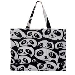 Panda Bg Large Tote Bag