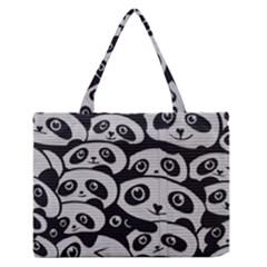 Panda Bg Medium Zipper Tote Bag