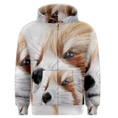 Panda Art Men s Zipper Hoodie