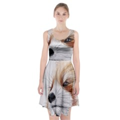 Panda Art Racerback Midi Dress