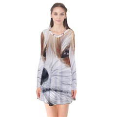 Panda Art Flare Dress