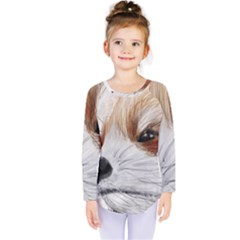 Panda Art Kids  Long Sleeve Tee