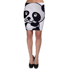 Adorable Panda Bodycon Skirt