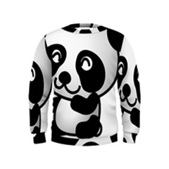 Adorable Panda Kids  Sweatshirt