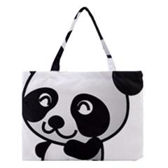 Adorable Panda Medium Tote Bag