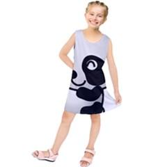 Adorable Panda Kids  Tunic Dress