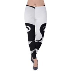 Adorable Panda Velvet Leggings