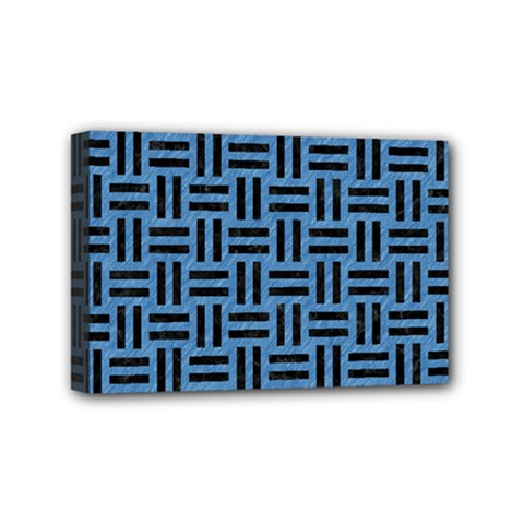 WOV1 BK-MRBL BL-PNCL (R) Mini Canvas 6  x 4