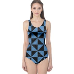 TRI1 BK-MRBL BL-PNCL One Piece Swimsuit