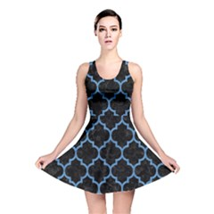 TIL1 BK-MRBL BL-PNCL Reversible Skater Dress