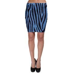 SKN4 BK-MRBL BL-PNCL Bodycon Skirt