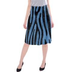 SKN4 BK-MRBL BL-PNCL Midi Beach Skirt