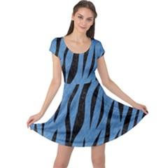 SKN3 BK-MRBL BL-PNCL (R) Cap Sleeve Dresses