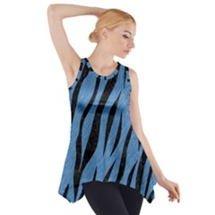 SKN3 BK-MRBL BL-PNCL (R) Side Drop Tank Tunic