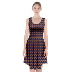 Geometric Pattern 195 170321 Racerback Midi Dress